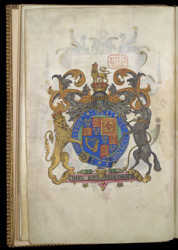 Royal Coat of Arms, Frontispiece of